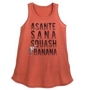 Like New Asante Sana Squash Banana Tank